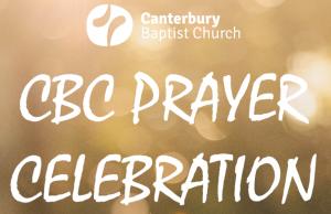 Prayer Celebration @ Upper Hall