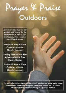 Prayer & Praise Outdoors