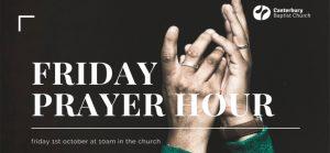 Friday Prayer Hour @ Upper Lounge